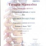 TERAPIA MANUALNA III